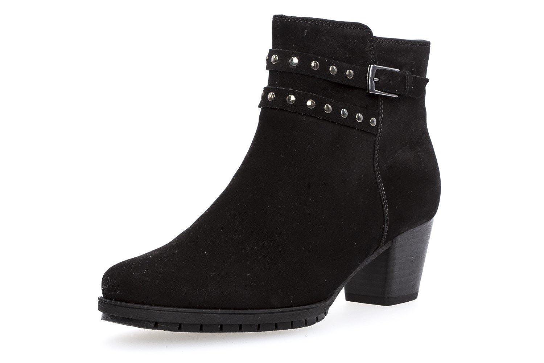 GABOR - Damen Stiefeletten - Schwarz Schuhe in Übergrößen Übergrößen in Schwarz aef0ca