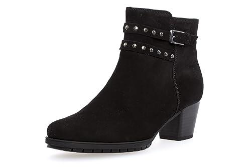 Gabor Damenschuhe 76.602.47 Damen Stiefeletten, Boots, Stiefel, in Comfort Mehrweite, mit Reißverschluss