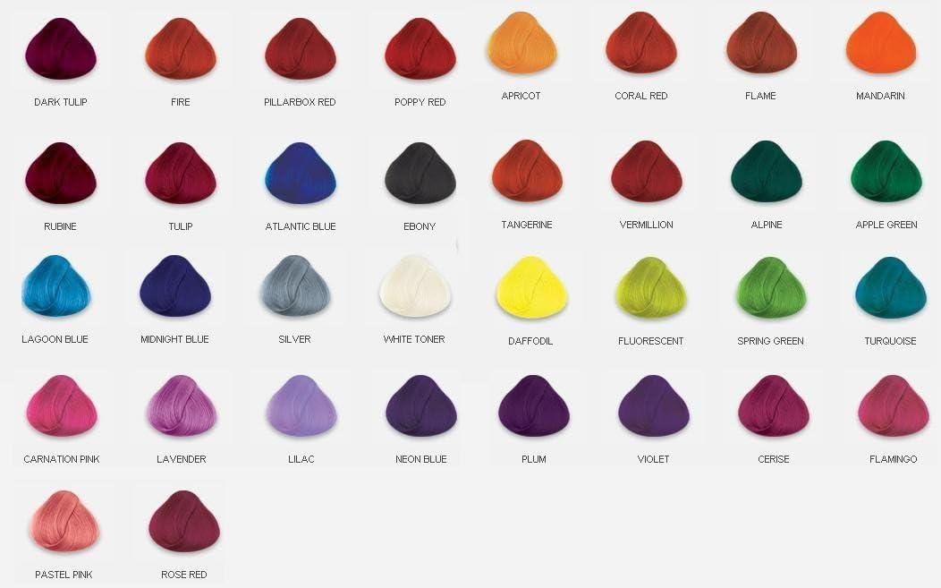 La Richè Directions Tinte de pelo, 4 unidades, tonos originales, 89 ml