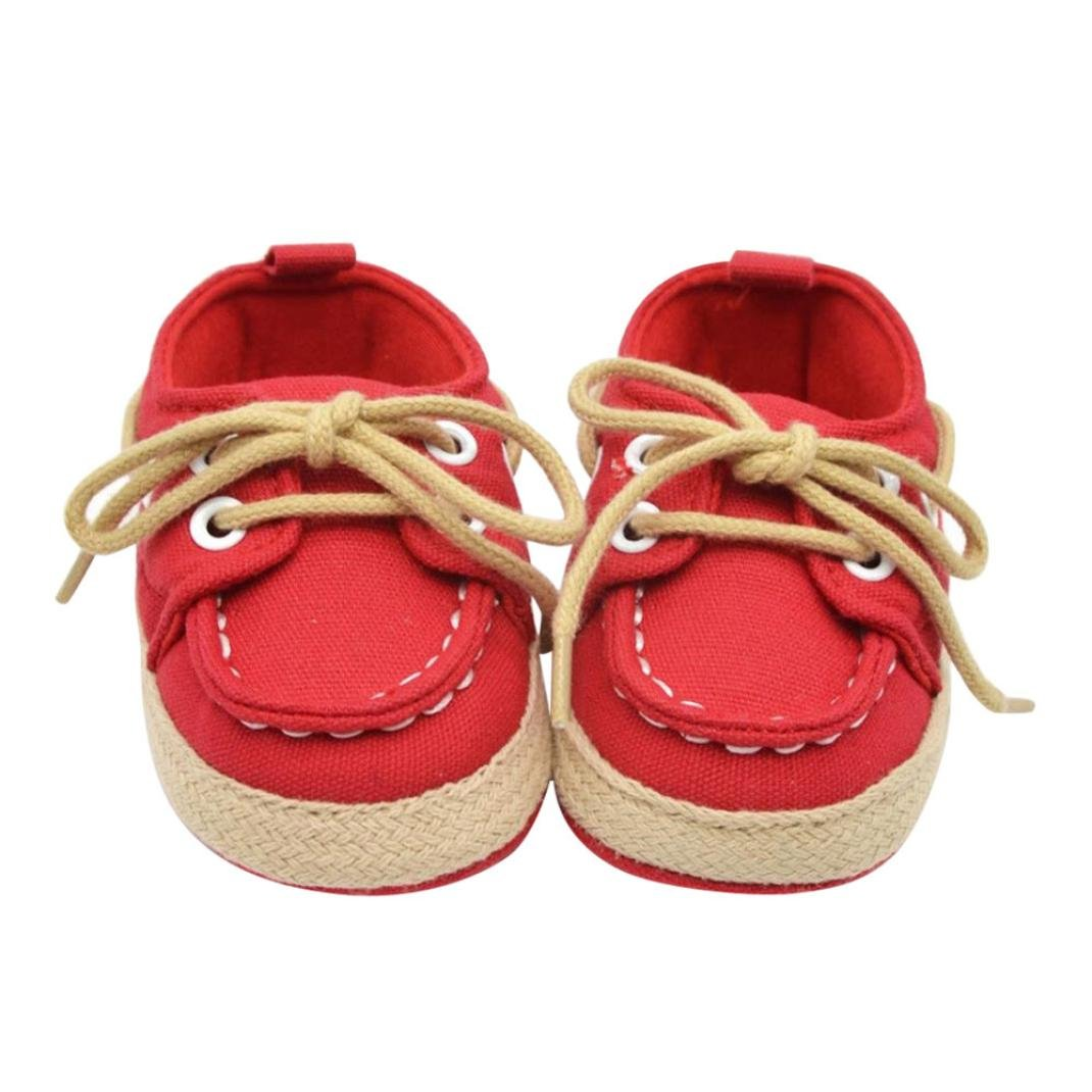 b308e7e3ed44f Hot Sale ! Kstare Newborn Baby Boys Girls Premium Soft Sole Infant  Prewalker Toddler Sneaker...