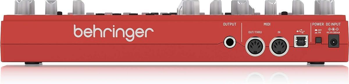 BEHRINGER TD-3-RD:リアパネル