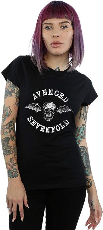 Absolute Cult Avenged Sevenfold Mujer Bat Camiseta