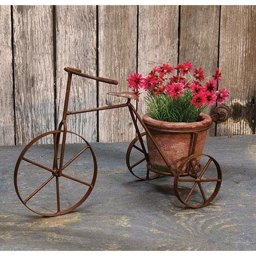 Tricycle Planter w Pot