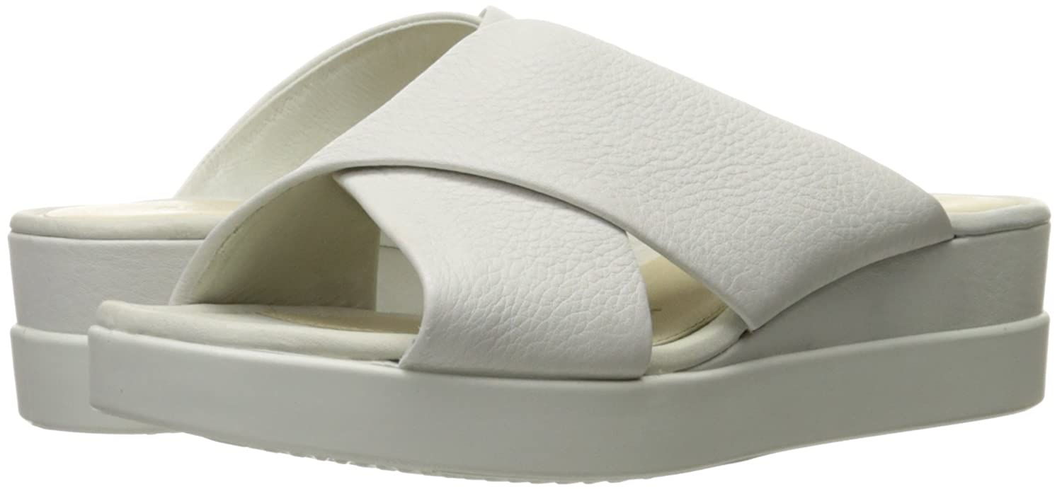 d15a63599e9e ECCO Women s Touch Plateau Platform Slide Sandal  Buy Online at Low Prices  in India - Amazon.in