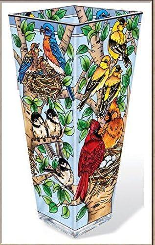 Amia – Nested Birds Vase Large