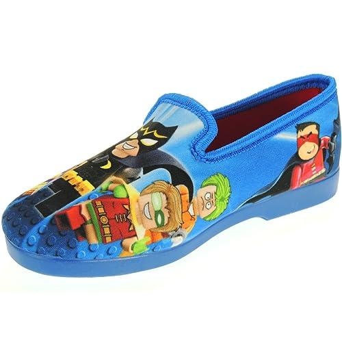 Alcalde 795 Zapatillas de Casa de Lego Batman para Niños: Amazon.es: Zapatos y complementos