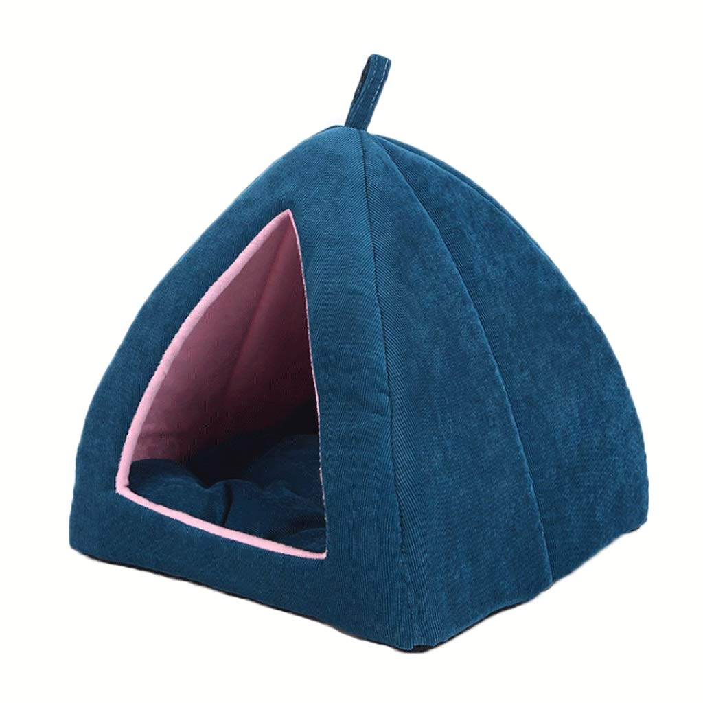 1  Pet Bed Dog Bed Triangle Yurts Pets Small Dogs Cats Hide Pets A+ (color   1 )