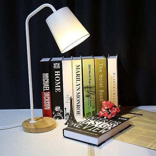 YUENIAO Lámpara De Mesa Led Lámparas De Escritorio Cómodas De La ...