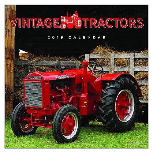 (2019 Vintage Tractors Wall Calendar)