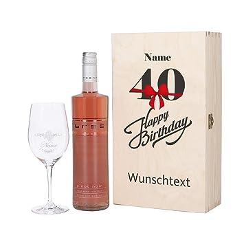 Wein geschenk zum 40 geburtstag