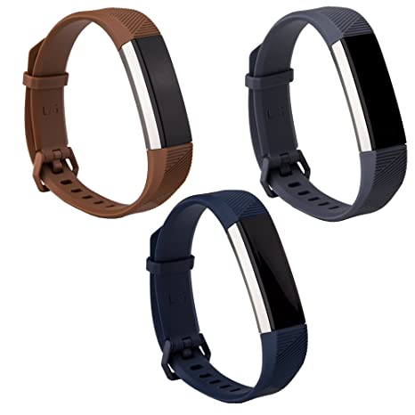 Large Choose Color Leather Replacement Accessory Wrist Band for Fitbit Alta