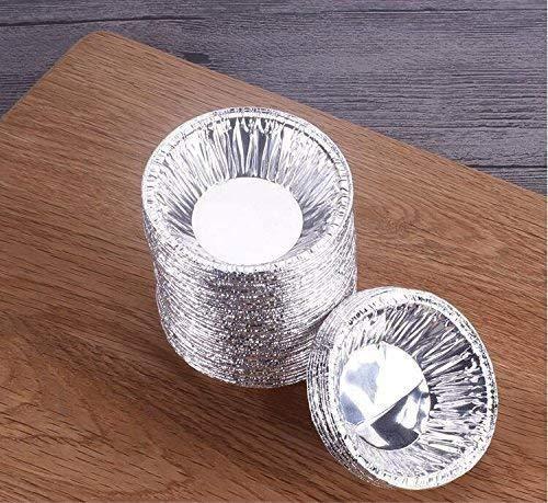 250pcs Backen Tinfoil Cupcake Circular Ei-form-cups