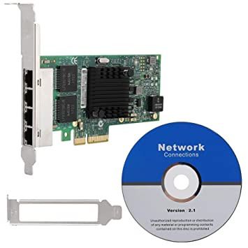 Tonysa PCI-Express x4 PCI-E Tarjeta de Red Gigabit Ethernet ...
