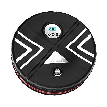 YANGs Bomba De Compresor De Aire Manual, Inflador De Neumático Digital Con Indicador Digital,