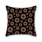 NICEPLW pillow covers 18 x 18 inches / 45 by 45 cm(two sides) nice choice for indoor,bar,kitchen,kids room,teens girls,floor geometry