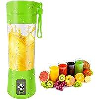 TIRTH FASHION WORLD Plastic and Steel Design Portable Juice Fruits Mixer Bottle (, Multicolour)