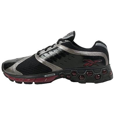 uk availability 633df 7d430 Reebok Men s SmoothFit Hex True Running Shoe,Black Garnet Silver ...