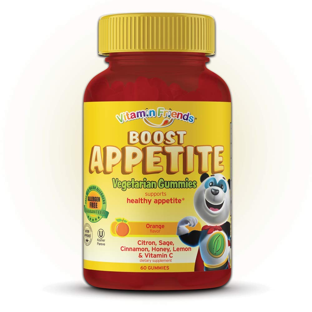 Vitamin Friends - Kids Boost Appetite Gummies (60 Count) - All Natural Children's Appetite Stimulant - Supports Healthy Immune System and Energy Levels - Vegetarian, Kosher, Allergen Free Vitamin by Vitamin Friends