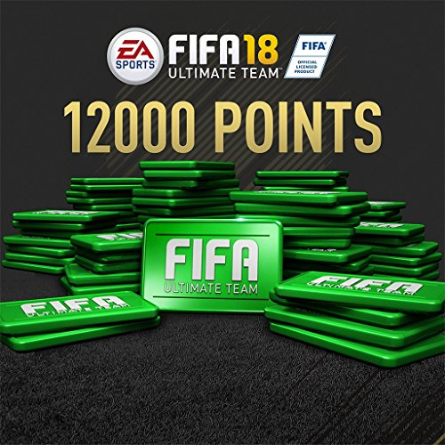 FIFA 18 - 12000 FIFA POINTS - PS4 [Digital Code] by Electronic Arts