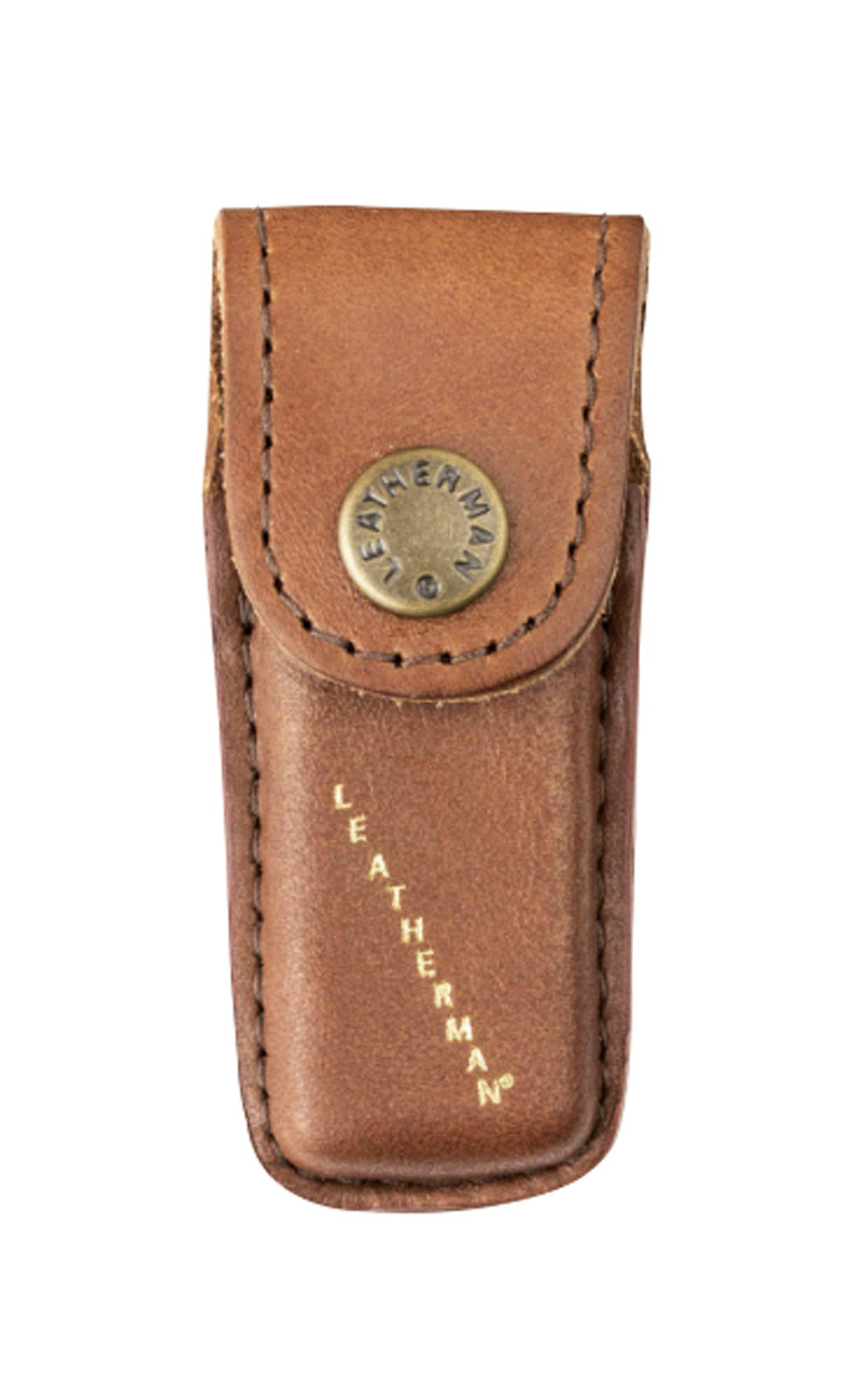 LEATHERMAN - Heritage Leather Snap Sheath for Multitools, Extra Small (Fits Micra)