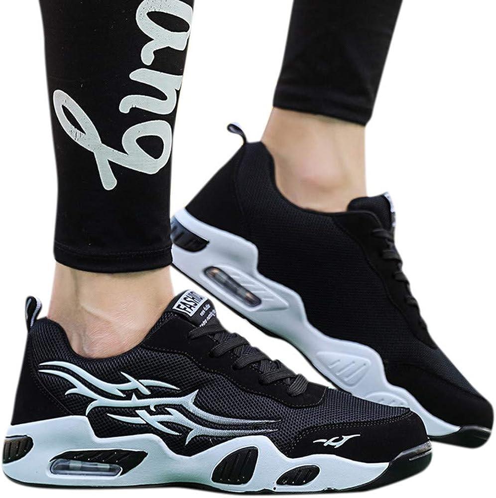 FRAUIT Zapatos de Hombre Zapatos de Verano Transpirables Zapatillas Ligeras de Malla para Hombre Zapatillas de Correr Tejidas A La Moda Talla 39-44: Amazon.es: Ropa y accesorios