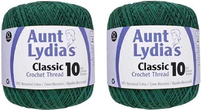The Best Artiste Crochet Thread Apple Green