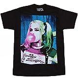 Suicide Squad Harley Quinn Bubble Gum T-Shirt-X-Large
