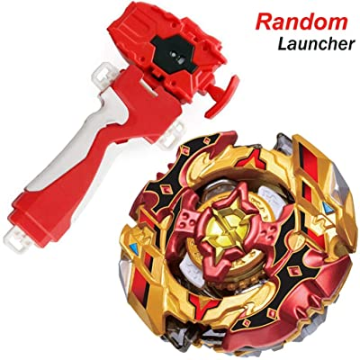 Bey Battle Evolution Blade Turbo Random Red String Launcher Grip God Bay B-128 Booster Super CHO-Z SPRIGGAN.OW.ZT Spinning Top Games & Accessories Bey Burst Gaming Tops Battling Starter Set Boy's Gift: Toys & Games