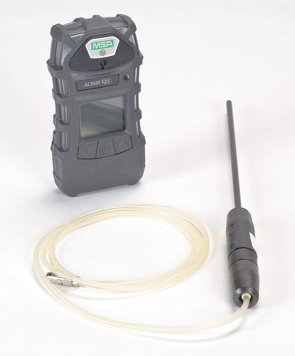 MSA 10116928 ALTAIR 5X Gas Detector, Color Display Screen, LEL, O2, CO, H2S, 10' Sample Line, 1' Probe by MSA (Image #1)