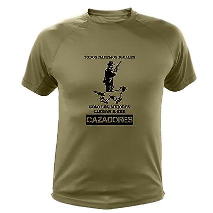Camisetas Personalizadas de Caza, Todos nacemos Iguales, Cazador - Ideas Regalos (30139,