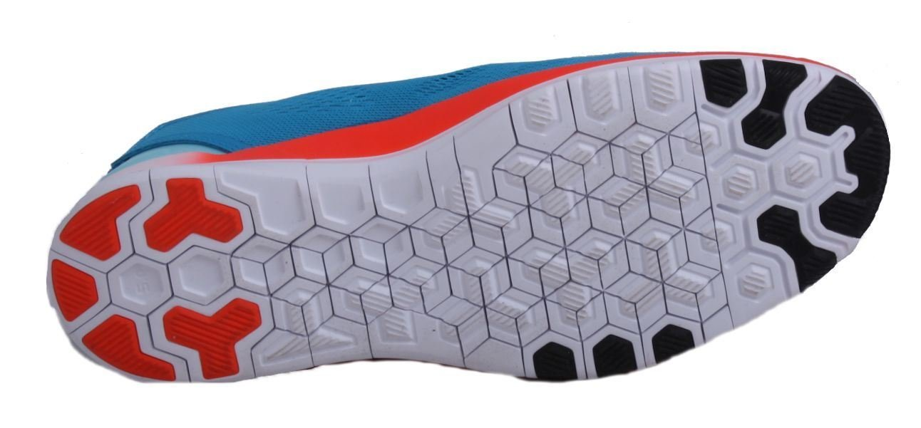 NIKE Free 5.0 TR Fit 5 Womens Blue Lagoon/Black/Bright Crimson Running Sneakers by NIKE (Image #4)