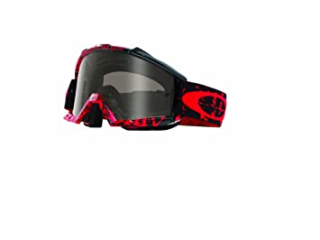 red and black oakleys  Amazon.com: Oakley Proven MX Tagline Goggles with Red/Black/Sand ...