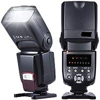 SHOPEE Universal Flash Speedlite On-Camera Flash GN50 w/Adjustable Light for Canon Nikon Olympus Pentax DSLR