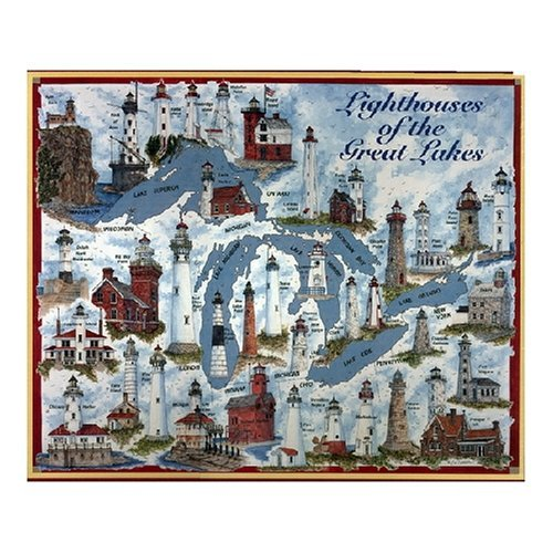 Heritage Lighthouses of The Great Lakes Jigsaw Puzzle - 1000 Pieces