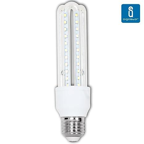 Pack de 5 Bombillas LED T3 3U, 12W, casquillo gordo E27, 1020 lumen