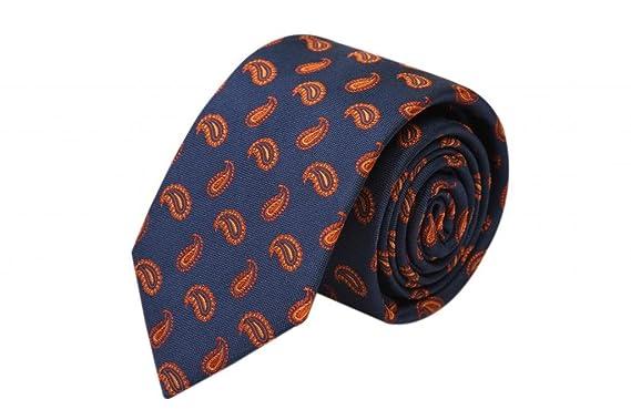 Zavetti - Corbata de seda para hombre, diseño de cachemira ...