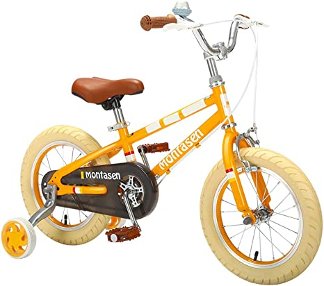 Bicicleta para niños de 4 a 6 años de Edad, niña, niño y niña, con ...