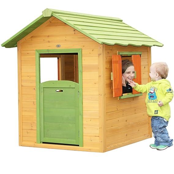 Garten Holz Spielhaus - Habau Kinderspielhaus Tim
