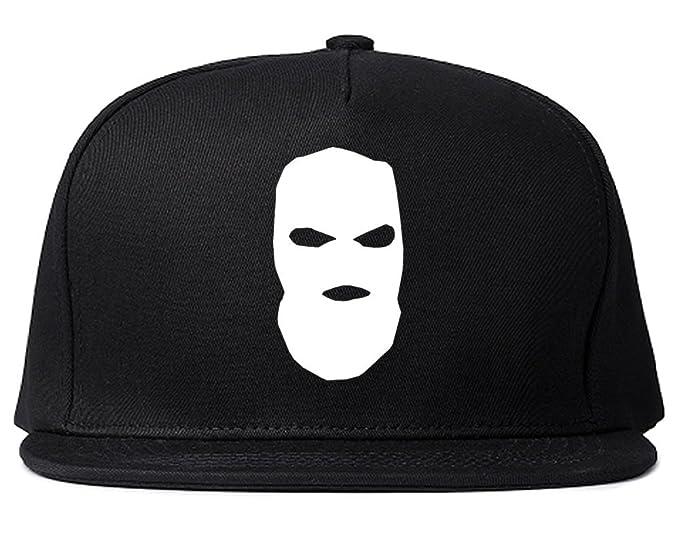 d53700fb31d Amazon.com  Kings Of NY Ski Mask Chest Logo New York Hood Snapback ...
