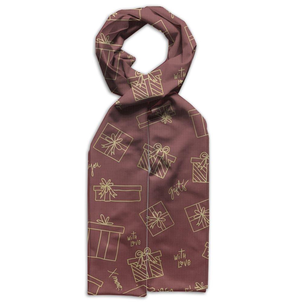 Merry Christmas Gift Printing Scarf Warm Soft Fashion Scarf Shawl Spring Autumn Winter Kids Boys Girls