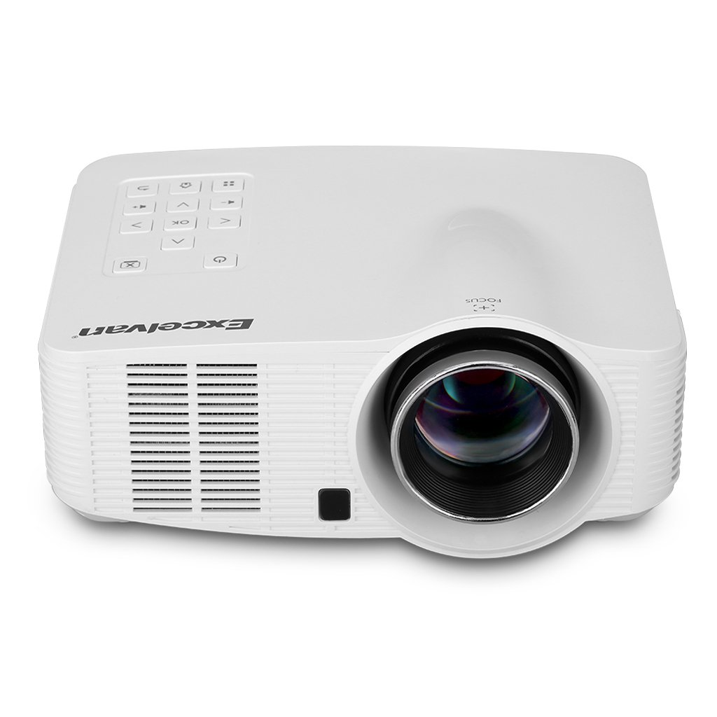 Excelvan-Proyector LED portátil Android, wi-fi, HD 1500 ...