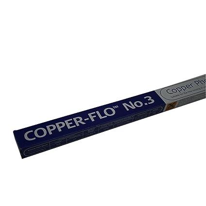 Varillas de soldadura cobre Flo 3, 1 kg