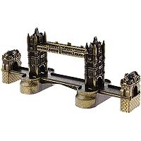 Si London Tower Bridge UK Souvenir Statua Regalo Casa Decorazione London Souvenir Artigianato Artware–Bronzo -20cm