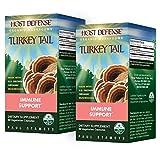 Fungi Perfecti Host Defense Turkey Tail 60 Capsules – TwinPak For Sale