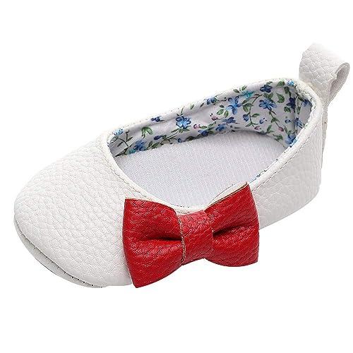 Mocasines Bebé, LANSKIRT Primeros Pasos Bebé Niña Zapatos sin Cordones Zapatos de Cuna Zapatos de Suela Blanda Botas Mocasines: Amazon.es: Zapatos y ...