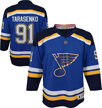 low priced b61ca e9ca3 Outerstuff Vladimir Tarasenko St. Louis Blues NHL Youth 8-20 Blue Home  Player Jersey