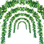 JUSTOYOU-5Pcs-44Ft-Artificial-Ivy-Leaf-Garland-Plants-Vines-with-Leaves-Hanging-Greenery-Fack-Ivys-Vines-for-Wedding-Outside-Party-Home-Decor