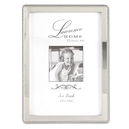 Amazon.com - Lawrence Frames Metal Picture Frame with Delicate Outer ...