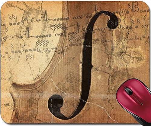 Liili Mousepad grunge music background with old fiddle Photo 3612878 (Pattern Silver Fiddle)