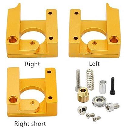 Elegante bloque extrusor de aleación de aluminio para Makerbot 1 ...